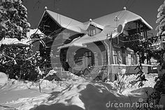 House Covered By Snow - Download From Over 25 Million High Quality Stock Photos, Images, Vectors. Sign up for FREE today. Image: 37538752