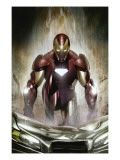 Marvel Adventures Super Heroes No.1 Cover: Spider-Man, Iron Man and Hulk Wall Mural by Roger Cruz at Art.com
