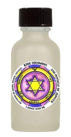 King Solomons 1 ounce Altar Oil Choose Your Solomon Seal Scent