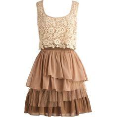 Country Truffles Dress via Polyvore