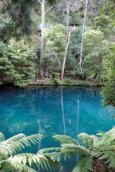 Blue Lake at Jenolan Caves, NSW Australia