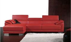 leather sectional chaise - Google Search