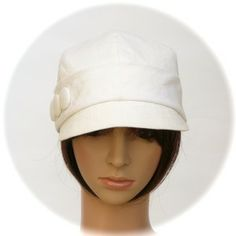 URBAN CAP - 100% hemp summercloth - Rosehip Hat Studio