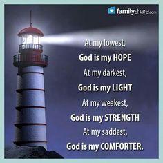 God is my hope
