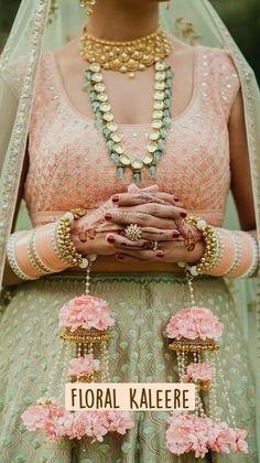 Desi Wedding, Wedding Wear, Floral Wedding, Wedding Goals, Wedding Dress, Gown Dress Party Wear, Diy Fashion, Indian Fashion, Bridal Chuda