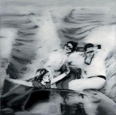 Motorboat by Gerhard Richter (1965)