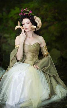 Midsummer Nights Dreaming - Lunaesque Creative Photography Dress - www.thedarkangel.com