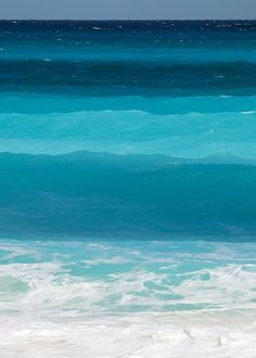 Ocean Colors Cancun Mexico Shades Of Blue