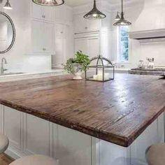 Homemade kitchen island, Kitchen islands and Rustic light fixtures