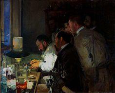 Joaquín Sorolla Bastida (1863-1923). Una investigación. 1897. Museo Sorolla, Madrid, Spain.