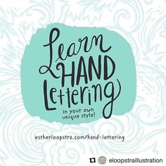 #Repost @eloopstraillustration with @get_repost  This week only! Im offering 25% off my lettering e-course!  This course is tons of fun and will totally change the way you think about your lettering. Enter the code FEBLETTER 25 at checkout to get the deal. Join us! For more info visit the link in my bio or go here: http://ift.tt/2w6Lnmd . . . . . . #illustration #illo #handdrawn #instaart #art #artoflicensing  #artist #artwork #calledtobecreative  #estherloopstraillustration…
