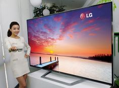 "LG 84 Inch Ultra HD 4K TV - Priced at $ 20,000, this sports a resolution of 3840 x 2160. Quadrupling the level of detail from full 1080p HD resolution to a massive 8 million pixels, in the 4K format which is now referred to as Ultra HD. Also equipped with LG's higher detailing technology called ""LG Resolution Upscaler Plus""."