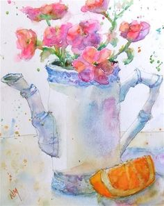 """""""joy"""" - watercolour painting by Nora MacPhail"""