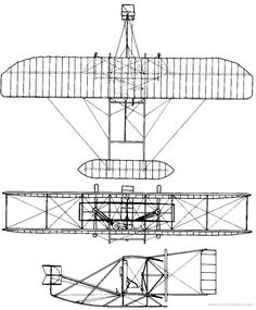 how was the first airplane made