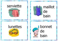 thème piscine Organization Bullet Journal, Grande Section, Comics, Sports, Kids, Cycle 2, Homeschooling, French, Swiming Pool