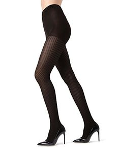 MeMoi Chevron Tights  MeMoi Women's Hosiery - Pantyhose Small/Medium / Black MO 316#Women, #Hosiery, #Tights Women's Tights, Leggings, Fall Handbags, Patterned Tights, Wash Bags, Hosiery, Chevron, Stockings, Legs
