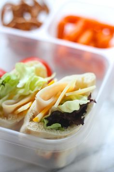 Mini Salad Pita Pockets