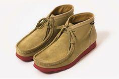 NANAMICA x CLARKS ORIGINALS WALLABEE GORE-TEX | Sneaker Freaker