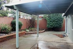 David Wright Architect Covered Walkway To Carport Or