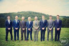 Group photo, Devon Farm wedding