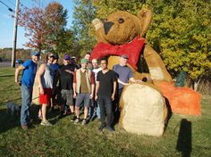 On the way to hike up Snake Mountain with GLAM, we stopped at The Vermont Teddy Bear Company for a photo shoot! - Connextions Magazine