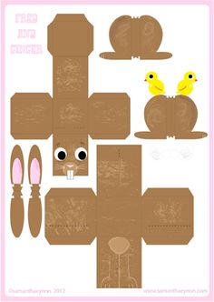 Samantha Eynon - Paper Toy Downloads