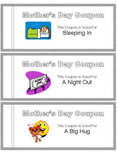 Mother Day Crafts Coupons – Mothers Day Craft Ideas