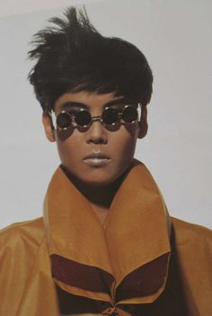 Issey Miayke by Irving Penn / Offset lithograph poster, Japan 1987