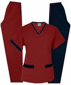 Patrones Moldes Uniformes Imprimibles Medicos Profesionales - Bs. 1.500,00 Scrubs Outfit, Scrubs Uniform, Cute Nursing Scrubs, Scrub Shoes, Scrubs Pattern, Beauty Uniforms, Medical Uniforms, Uniform Design, Suit Accessories