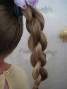 Round 4 Strand Braid Video from BabesInHairland.com  #4strandbraid #braids #hairstyle #video
