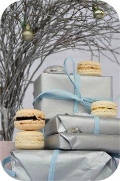 Macarons mit Weihnachtsfüllung