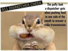 Dispatcher Cheek-- same for an electric dispatcher !!