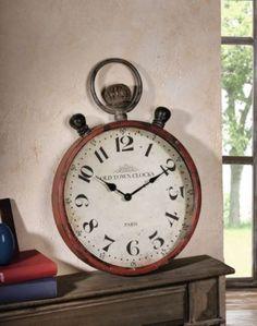 Wanduhr Taschenuhr XXL Old Town clock Uhr Uhren Metalluhr shabby chic Nostalgig jetzt neu! ->. . . . . der Blog für den Gentleman.viele interessante Beiträge  - www.thegentlemanclub.de/blog