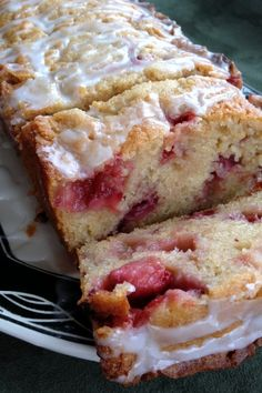Strawberry Lemon Yogurt Cake | Cook'n is Fun - Food Recipes, Dessert, & Dinner Ideas