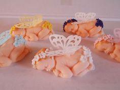 Sleeping Fairy Baby Cake Topper Christening/Baby Shower EBay cakepins.com