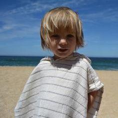 Kid's Turkish Towel Ponchos