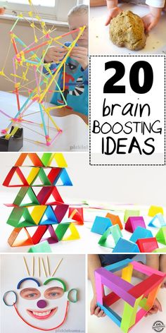 Looking for easy STEM ideas to sneak in over the summer? These simple activities will sneak in some learning while the kids play! 20 Kid Ideas that are Addictive – in a Good Way. There are some kids activities that are addictive. Craft Activities For Kids, Educational Activities, Learning Activities, Toddler Activities, Preschool Activities, Games For Kids, Crafts For Kids, Fun Games, Kids Fun
