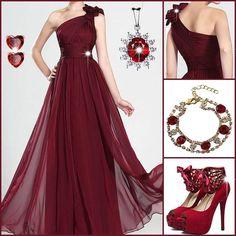 Las 91 Mejores Imágenes De Vestidos Vino Tinto Vestidos