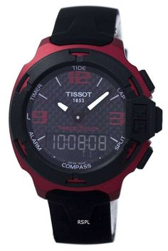 Tissot T-Race Touch Aluminium Perpetual Calendar Gents' Watch Tissot T Race, Perpetual Calendar, Seiko, Fashion Watches, Chronograph, Countdown Timers, Watches For Men, Racing, Touch