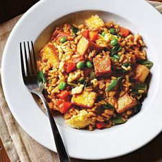 Tofu Fried Rice | CookingLight.com