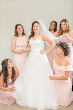 bridesmaids in pink help bride prep for NJ wedding   Rainy wedding day at Chauncey Hotel with portraits at Princeton University photographed by NJ wedding photographer Idalia Photography. Find inspiration for summer wedding days here! #IdaliaPhotography #PrincetonUniversityWedding #ChaunceyHotelWedding Wedding Morning, Rainy Wedding, Summer Wedding, Wedding Day, Bridesmaid Robes, Bridesmaids, Princeton University, Natural Light Photographer, Bridal Robes