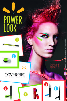 Create your own Power Look with these products from the The Hunger Games COVERGIRL #CapitolLooks Collection @Walmart