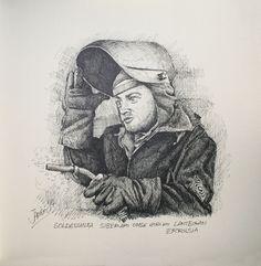 Soldadorea lantegian. Barnaul. Errusia.