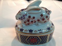 Beautiful hand painted porcelain covered by MartinesAntiques