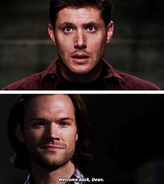 [gifset] 10x03 Soul Survivor. Aaaaahhh!!! Sam's precious, teary face! He finally has his big brother back. :')