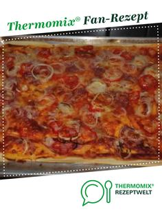 pizza - Pizza like the Italian from tfie. A Thermomix ® recipe from the Basic Recipes category zeptw -Italian-style pizza - Pizza like the Italian from tfie. A Thermomix ® recipe from the Basic Recipes category zeptw - Healthy Pizza Recipes, Easy Bread Recipes, Healthy Eating Tips, Mexican Food Recipes, Italian Recipes, Vegetarian Recipes, Ethnic Recipes, Breakfast Pizza, Breakfast Recipes