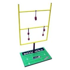 Seattle Seahawks Ladder Golf Game: Football Toss Set 2.0  $89.95