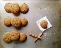 Brown Butter Gingersnaps