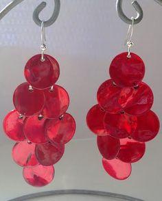 earrings with shells