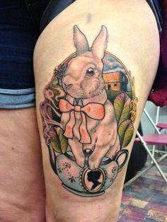 Cute Thigh Tattoos for Women Cute Thigh Tattoos, Thigh Piece Tattoos, Pieces Tattoo, Love Tattoos, Picture Tattoos, Black Tattoos, Girl Tattoos, Tattoos For Guys, Tattoos For Women